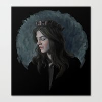ruby Canvas Prints featuring Ruby by Armellin