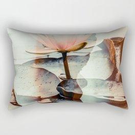 Lotus 02 Tas Rectangular Pillow