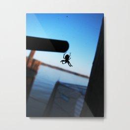 Arachnophobic Metal Print