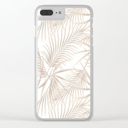 Palm leaves 4. Clear iPhone Case