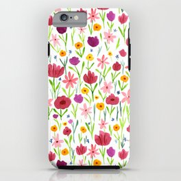 Flowerfield iPhone Case