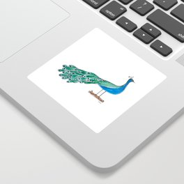The Peacock Sticker