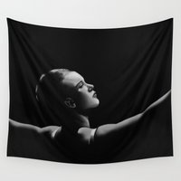 ballet Wall Tapestries featuring Ballet by ED Art Studio