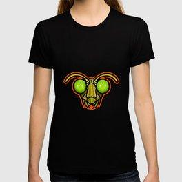 Praying Mantis Mascot T-shirt