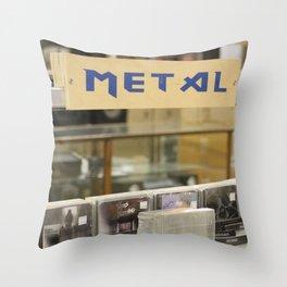 Metal Throw Pillow