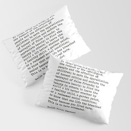 To Laugh Often And Much, Success, Ralph Waldo Emerson Quote. Pillow Sham