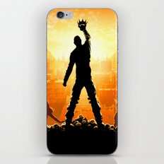 Re-claim the Throne iPhone & iPod Skin