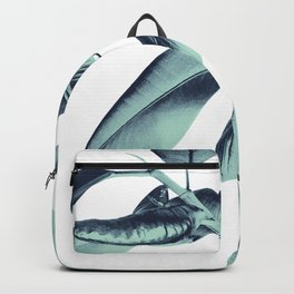 Ficus Elastica Beach Vibes #1 #foliage #decor #art #society6 Backpack