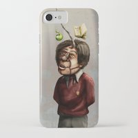 teacher iPhone & iPod Cases featuring Teacher by Lee Grace Design and Illustration