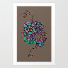 StarlyQueue4 Art Print