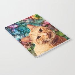 Orange Tabby Cat Notebook