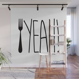 Fork Yeah! Wall Mural