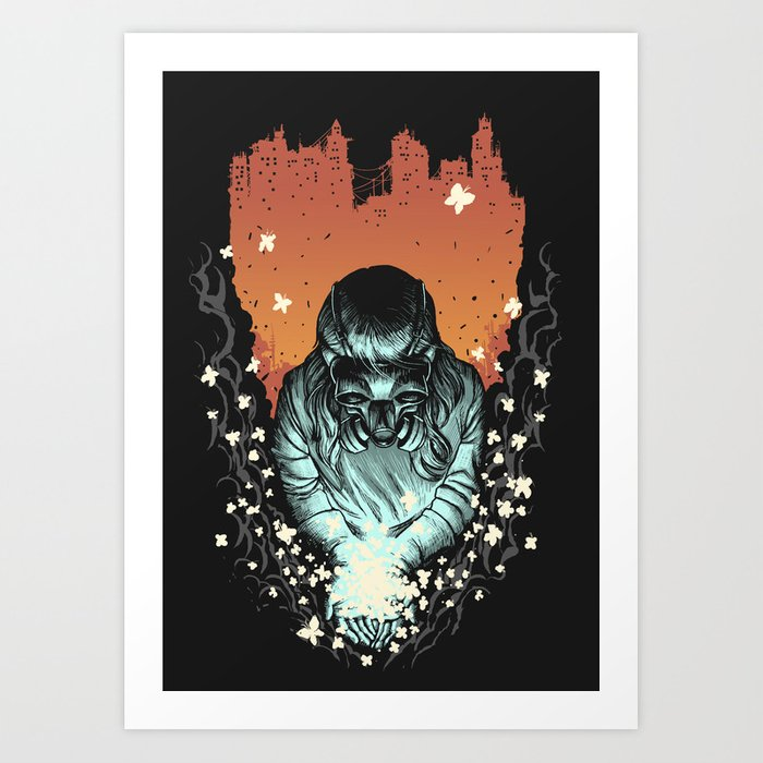 Light of Life Art Print