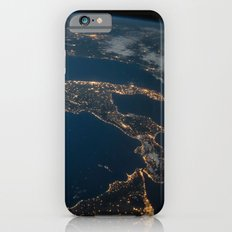 International Space Station - Italy at Dawn iPhone 6s Slim Case