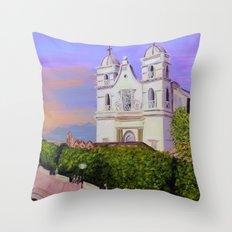 Tecalitlan Throw Pillow
