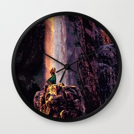 Brave - The Waterfall Wall Clock