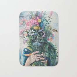 The Last Flowers Bath Mat