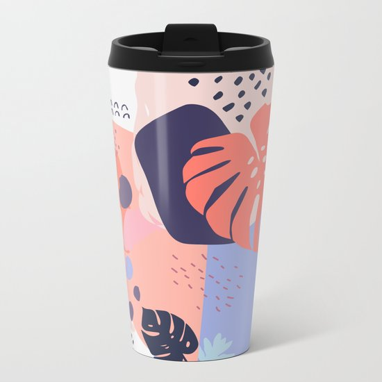 Concrete jungle Metal Travel Mug