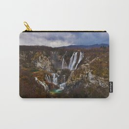 Mystical Waterfalls in Fall Carry-All Pouch