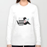 best friends Long Sleeve T-shirts featuring Best Friends by Regina Rivas Bigordá