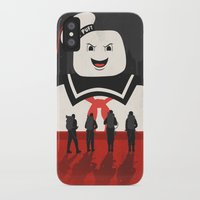 ghostbusters iPhone & iPod Cases featuring Ghostbusters by Bill Pyle