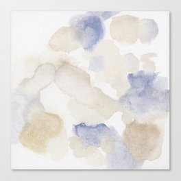 Bloom No. 9 Abstract watercolor floral Canvas Print
