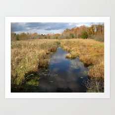 Georgia Landscape Art Print