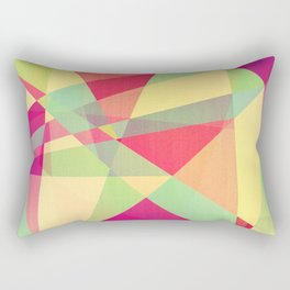 Summer Abstract Rectangular Pillow
