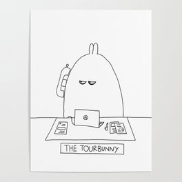 The TourBunny - Phone Poster