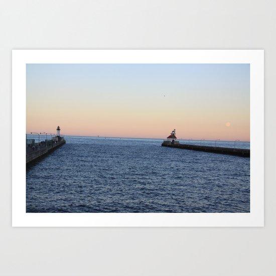 Goodnight Duluth Art Print