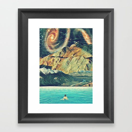 Youniverse. Framed Art Print