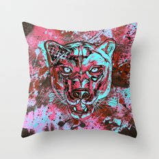 Panther Style. Throw Pillow