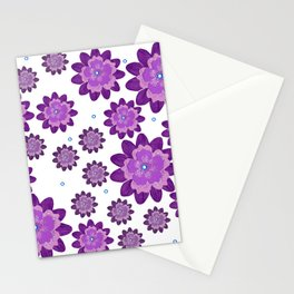 Flower pattern 5 Stationery Cards