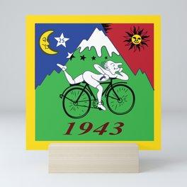 Bicycle Day 1943 Albert Hofmann LSD Mini Art Print