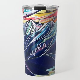 Silvercup Ridge, BC Travel Mug