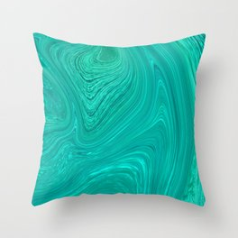Slippery Ocean Throw Pillow