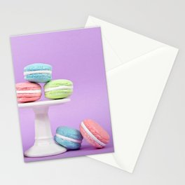 Macaron Sweet Treats Stationery Cards