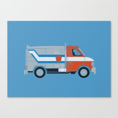 Optimus Van Canvas Print