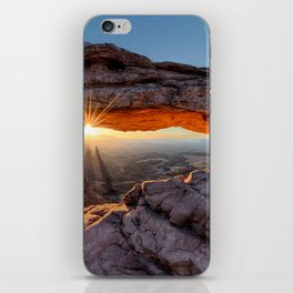 Mesa Arch Sunburst  by Lena Owens iPhone Skin