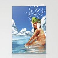 island Stationery Cards featuring ISLAND by Brian Foott