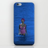 jenny liz rome iPhone & iPod Skins featuring Liz by POP Prints by FMcLaws