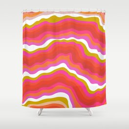 summer of love Shower Curtain