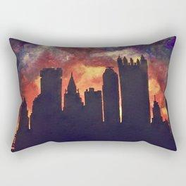 Pittsburgh Skyline Rectangular Pillow