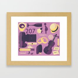 The Sign of Three Framed Art Print