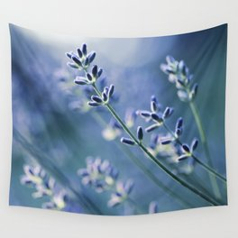 Lavender Blue Wall Tapestry