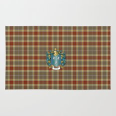 Gibson Coat of Arms and Tartan Rug