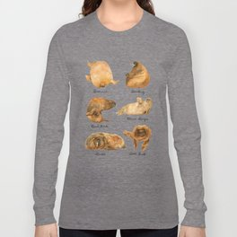 the furnished walrus Long Sleeve T-shirt