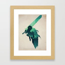 Causality (berserk) Framed Art Print