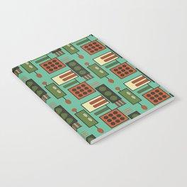 Retro Geodesic Notebook
