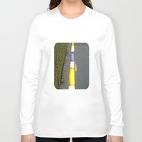 library Long Sleeve T-shirts featuring Library Line  by Ethna Gillespie